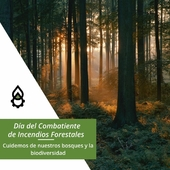 Hoy, como cada 4 de mayo, se celebra el Día del Combatiente de Incendios Forestales🌳🔥. Aprovechamos para: 🙏Dar gracias a los que se juegan la vida cada día por proteger nuestros bosques y a todos nosotros. 🌿🦋 Hacer un llamamiento a la lucha contra la deforestación y la pérdida de biodiversidad. 🌎 Aportar cada día nuestro granito de arena en contra del cambio climático. . . . #diadelcombatientedeincendiosforestales #forestales #bosques #cambioclimático #sostenibilidad #biodiversidad