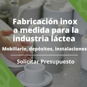¡Apoyamos a la industria láctea! 🥛 . 📐En nuestra fábrica Inox, fabricamos a medida todo lo que puedas necesitar: mobiliario, depósito e instalaciones para tu empresa y proyecto. . Contáctanos y solicita presupuesto y el asesoramiento de nuestros expertos en Prodel.👉 LINK EN BIO . . . #fabricainox #industrialactea #depositos #fabricacionamedida #fabricaProdel #ProdelAgricola #fabricadeinoxidable