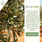 👉Esta semana estaremos en la XX Feria del Aceite de Oliva Virgen Extra e Industrias Afines, Expoliva 2021. . 🔝Es la principal Feria Mundial para la promoción y el desarrollo del Sector Olivar y el Aceite de Oliva. 📅Se celebra en Jaén, del 22 al 24 de septiembre. 📝Iremos compartiendo todas las novedades del sector y aprendiendo aún más para aplicarlo en los siguientes #ProyectosProdel. . . . #expoliva #AOVE #ExpOliva2021 #FeraiadelAceitedeOliva #Aceite #AceitedeOliva