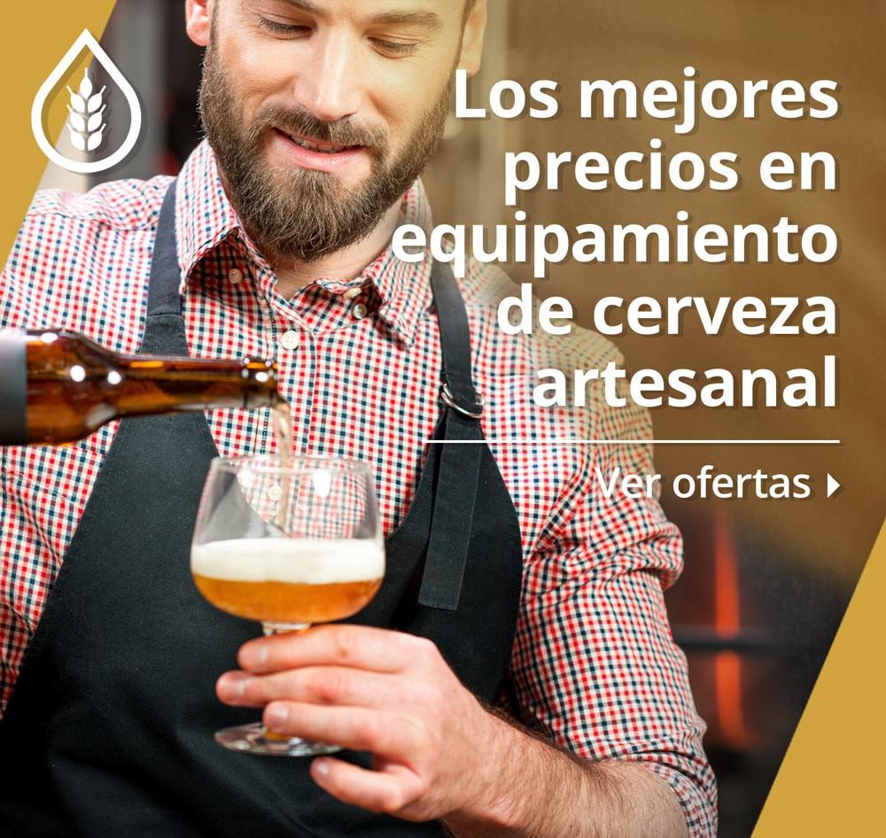 Equipamiento para elaboración de Cerveza artesanal